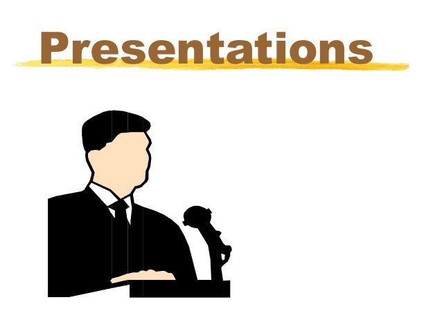 Tips for presentations