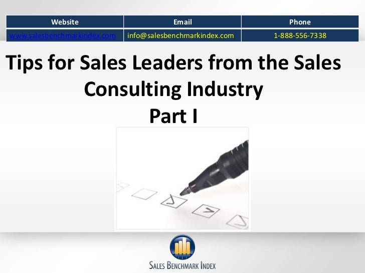 Tips For Sales Leaders