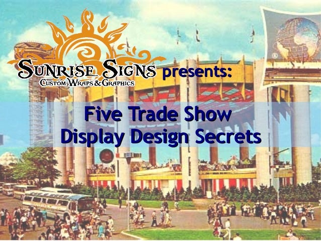 Tips for Effective Trade Show Display Design