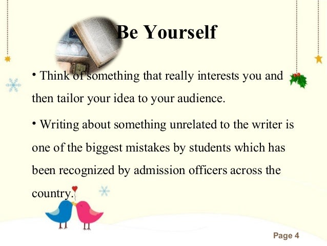Be Yourself Essay