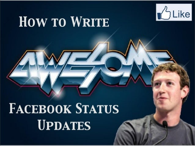 Tips for Writing Best Facebook Updates - EBriks Infotech