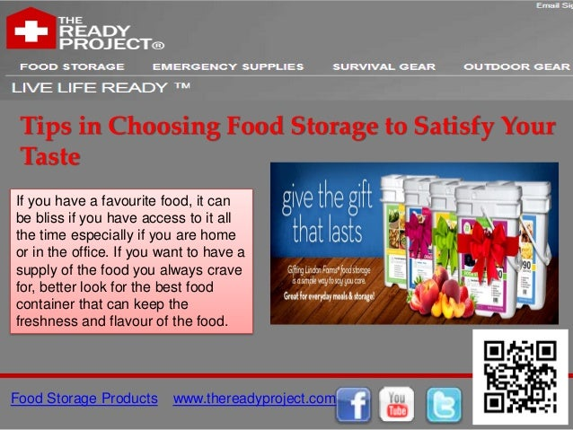 Tips in Choosing Food Storage to Satisfy Your TasteIf you have a favourite food, it canbe bliss if you have access to it a...