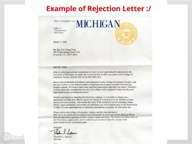 College Acceptance / Rejection Chances?