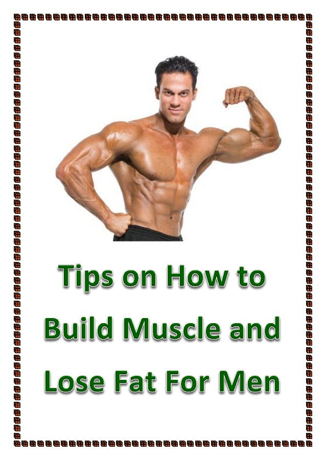 how to build muscle men