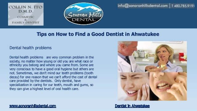 Tips on How to Find a Good Dentist in AhwatukeeDental health problems are very common problem in thesociety, no matter how...