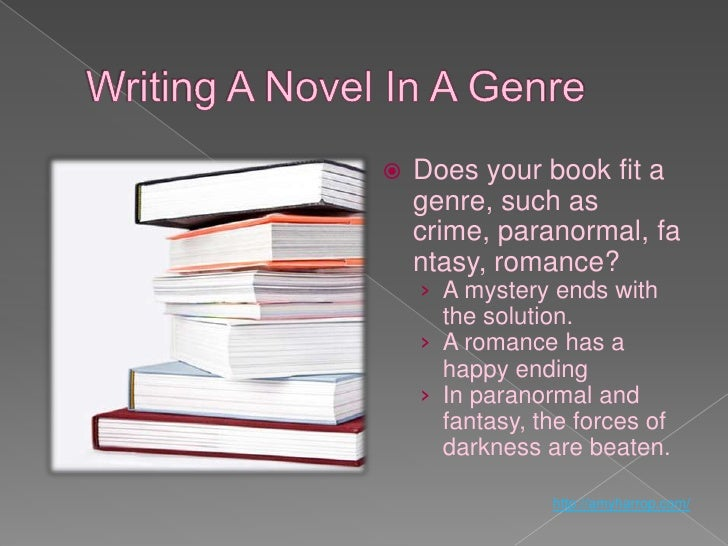 How to write a first novel