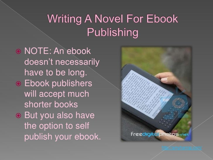 Write your first novel