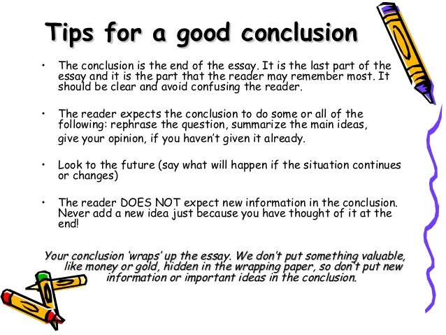 essay good tip writing