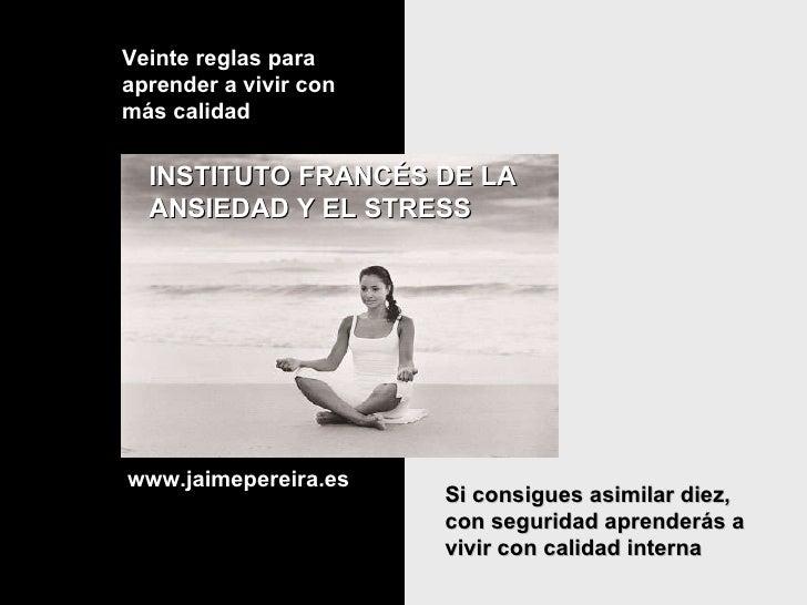 Tips para mas tranquilidad