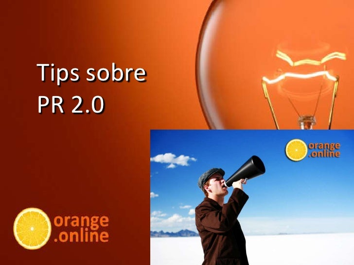 Tips sobrePR 2.0<br />
