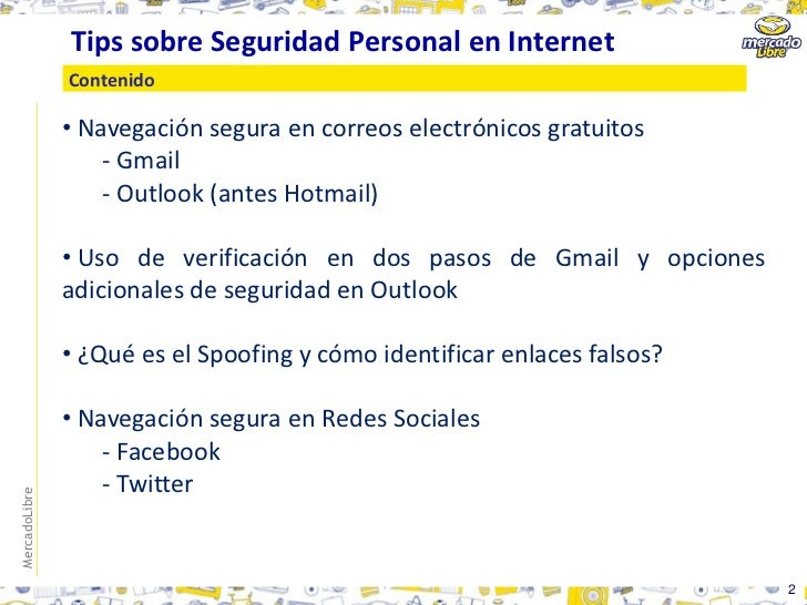 Tips Seguridad Tips Sobre Seguridad Personal