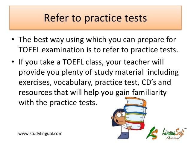 Best way to study for TOEFL?