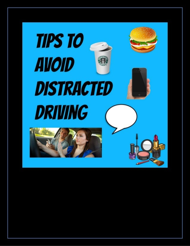 Essay distractions will affect driving