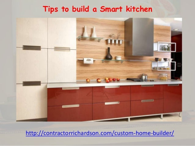 Tips To Build A Smart Kitchen