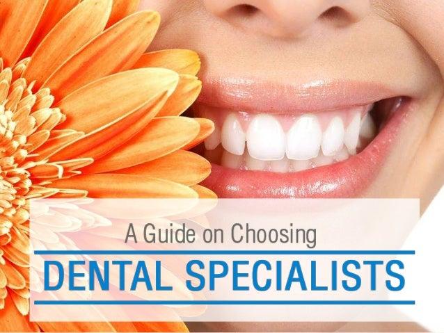 Tips to Choose Dental Specialist in Sydney