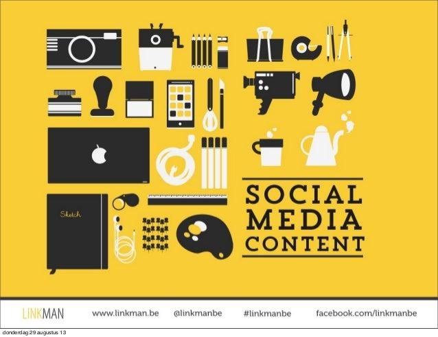 Betere social media content maken? Tips voor content creatie.