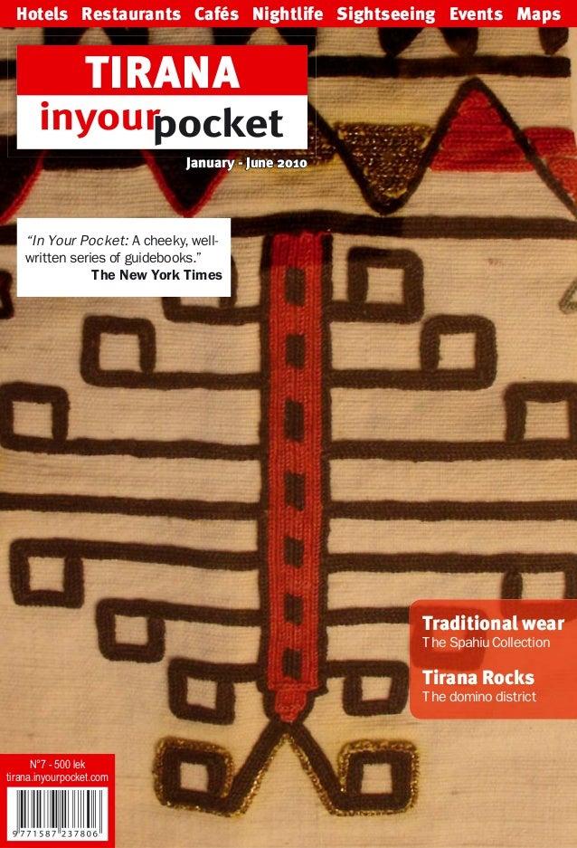 Tirana guide 2010