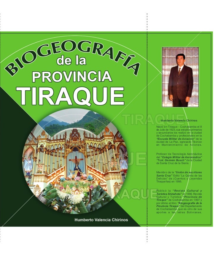 Tiraque, Cochabamba, Bolivia