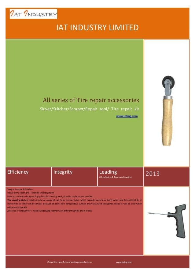 Tire repair accessories