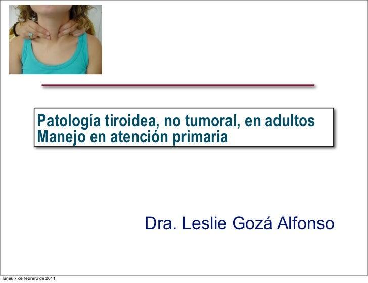 Tiroides (leslie)