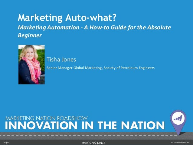 Marketing Auto-what? - Tisha Jones