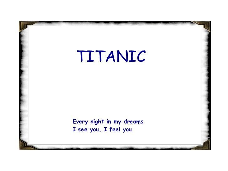 Titanic song Lyrics [Naushadme]
