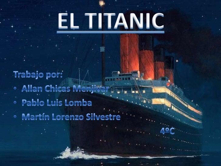 Titanic allan