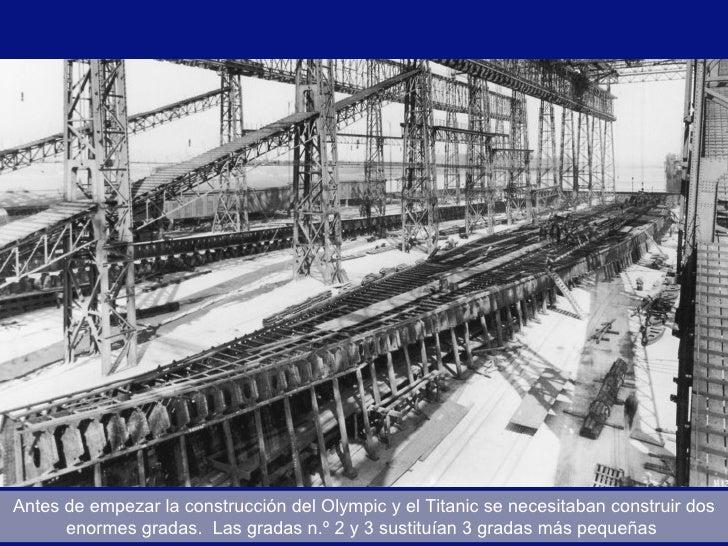 La construcci n del titanic - Construccion del titanic ...