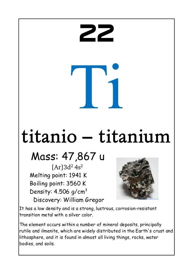 Titatnium