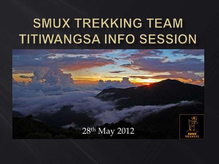 Titiwangsa info session slides