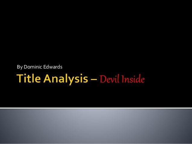 an analysis of the red devil films ltd Mint media capital offer british film  and the studio of choice for many successful british films  mint media capital ltd is unable to.