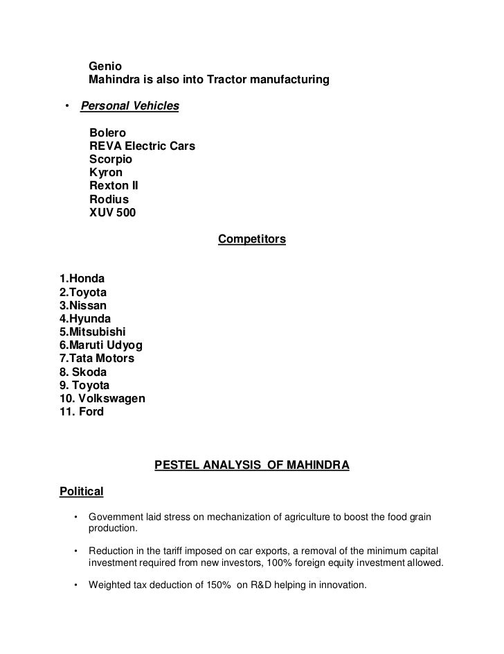 pestel analysis european automobile market Free essays on pestel analysis european automobile market for students use our papers to help you with yours 1 - 30.