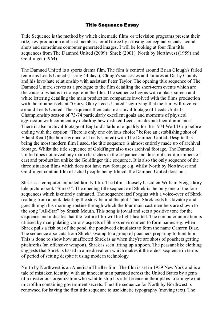 names of movies in essays Mla in-text citations (printable version here) use the name of the author and the title of the essay in the text place the page number within the parentheses.