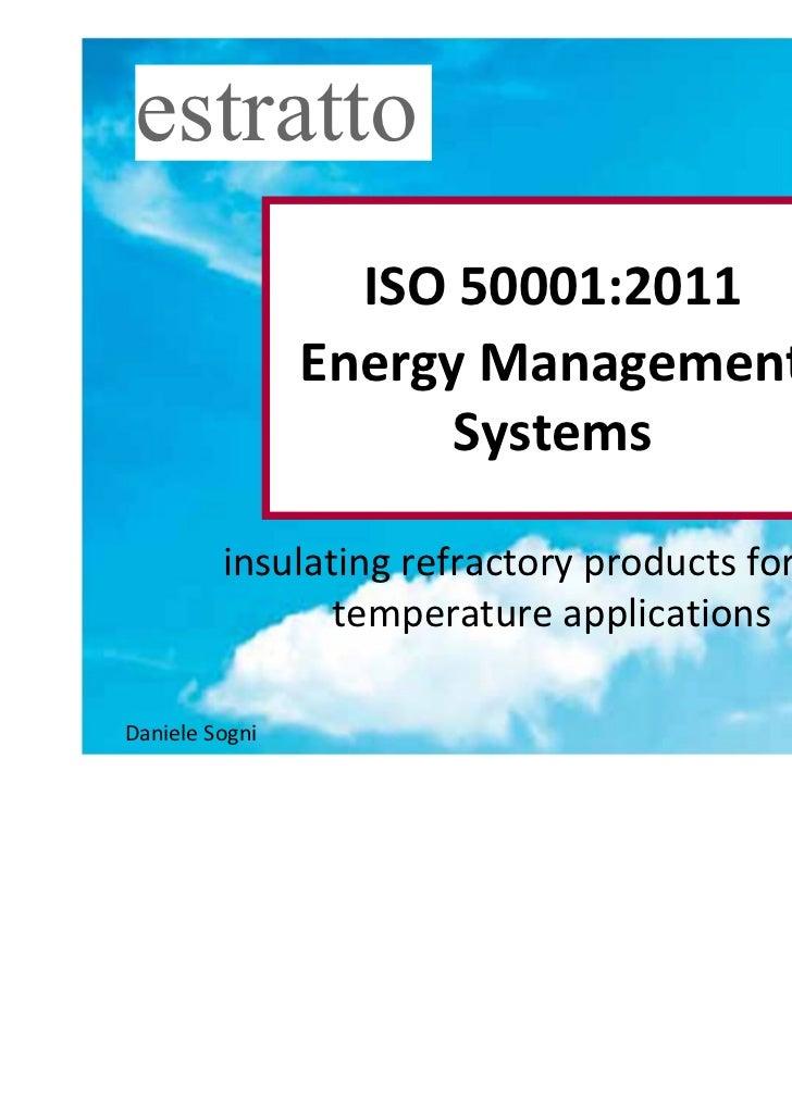 estratto                                                   1                  ISO 50001:2011                Energy Managem...