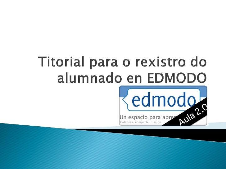 """Na barra de direccións doexplorador escribe:http://iesn1.edmodo.comComo aparece en inglés,podes cambiar a españolActiva """"e..."""