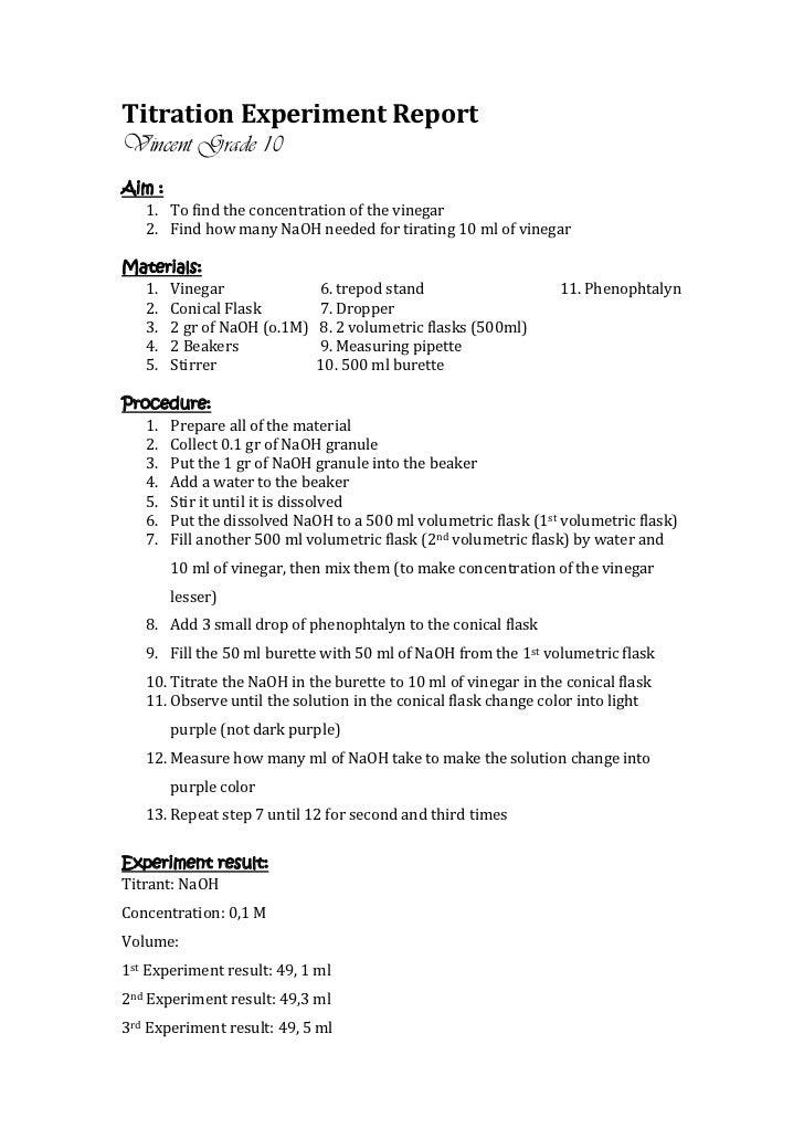 Titration with NaOH and oxalic acid