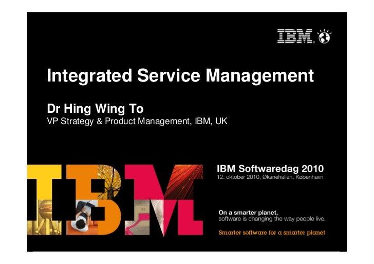 Integrated Service Management (IBM Tivoli)