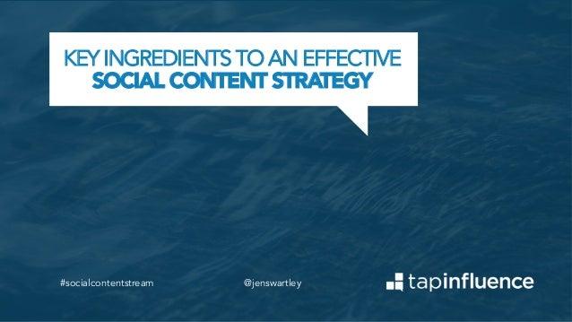 Tap Into the Social Content Stream; Part 1 [Webinar]