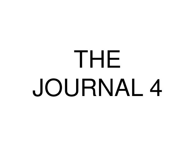 THE JOURNAL 4