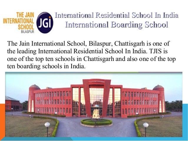International Residential School In India,Schooling in India