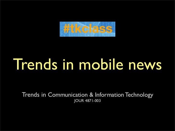 TKclass mobile trends slides