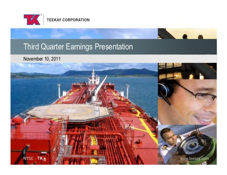 Third Quarter Earnings PresentationNovember 10, 2011