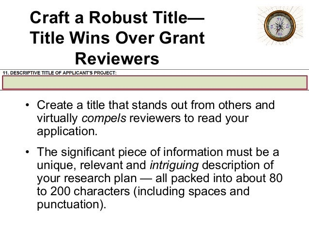 nih grant resubmission cover letter Use the assignment request form in forms-d to provide nih peer review referral information although nih will no longer check the cover letter.