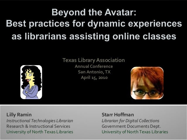 Texas Library Association                                       Annual Conference                                        S...