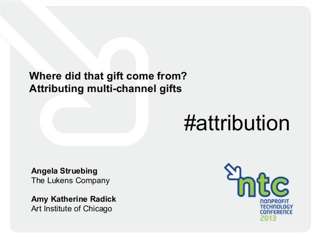 The Lukens Company - NTC Attribution