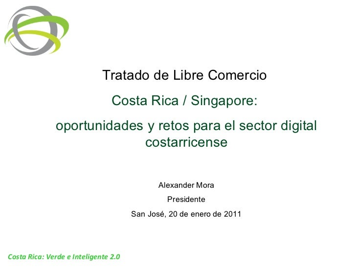 Oportunidades y retos para el sector digital costarricense (20 Enero, 2011