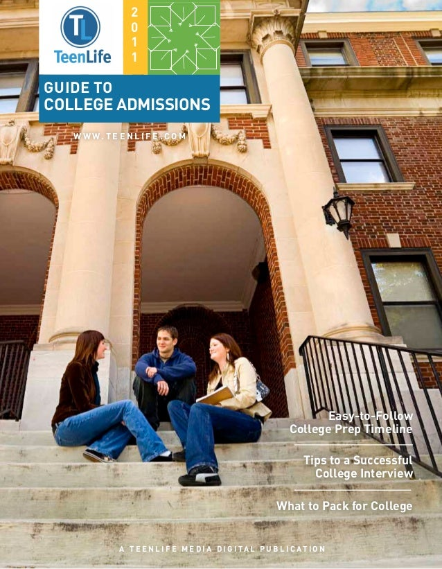 TeenLife 2011 Guide to College Admissions