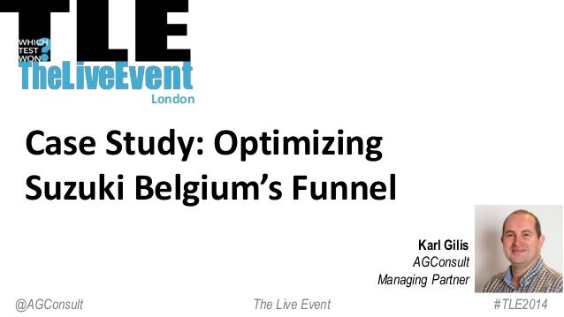 Optimizing the funnel of Suzuki Belgium - and more