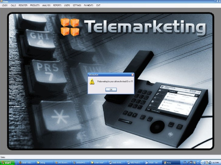 T Leads A telemarketing tool kit