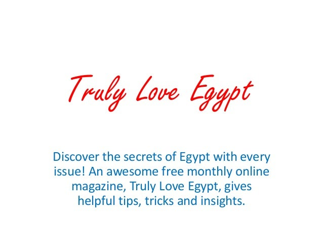 Discover Egypt!